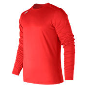 LS Baseball Tech Tee, Team Red