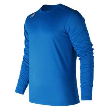 Men's Long Sleeve Tech Tee, Team Royal