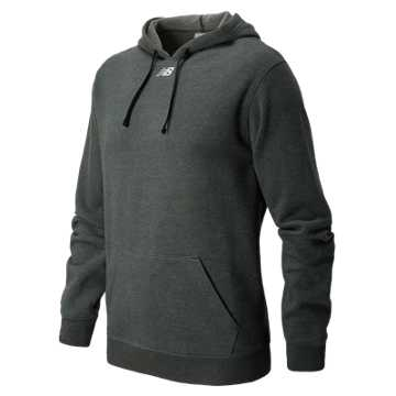 Men's NB Sweatshirt, Black Heather with Black