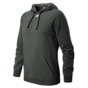 NB Sweatshirt, Black Heather with Black