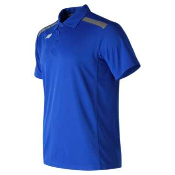 New Balance Baseball Polo, Team Royal