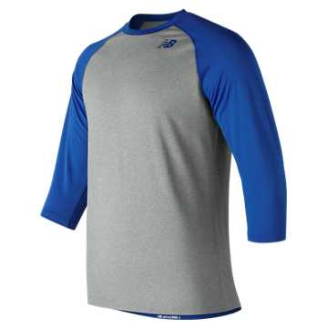 Men's Baseball Raglan Top, Team Royal