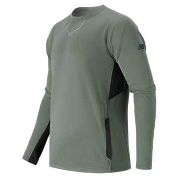 New Balance Baseball Pullover, Light Grey