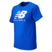 Baseball Lockup Tee, Team Royal