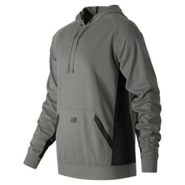 New Balance Baseball Tech Hoodie, Light Grey