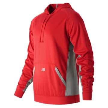 Men's Performance Tech Hoodie, Team Red