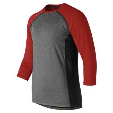 4040 Baseball Top, Sedona Red