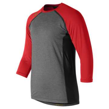 4040 Baseball Top, Team Red