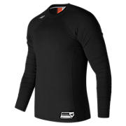 Long Sleeve 3000 Baseball Top, Team Black