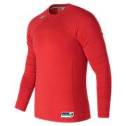 Long Sleeve 3000 Baseball Top, Team Red