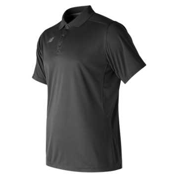 New Balance Performance Tech Polo, Team Black