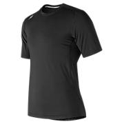 Short Sleeve Compression Top, Team Black