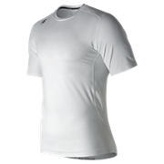 Short Sleeve Compression Top, White