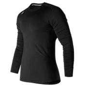 NB LS Compression Top, Team Black