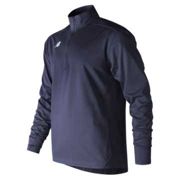 Men's Lightweight Solid Half Zip, Team Navy