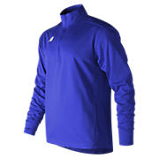 Lightweight Solid Half Zip, Team Royal