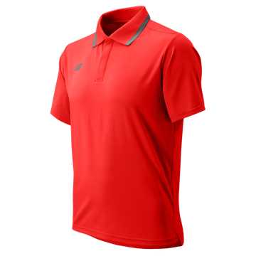 Men's Rally Polo, Team Red