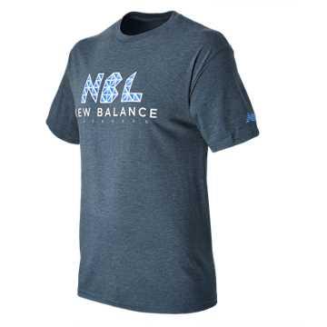 New Balance NB Lacrosse Tri Tee, Aviator