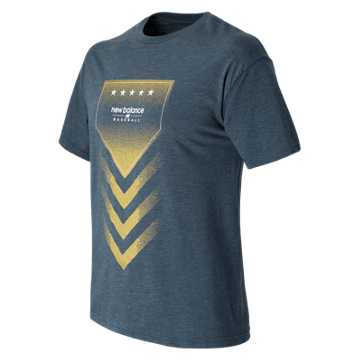 Baseball Admirals Star Tee, Team Navy