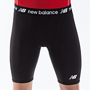 9 inch Compression Short, Team Black