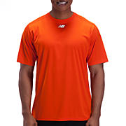 Short Sleeve Power Top, Team Orange
