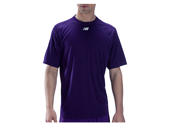 Short Sleeve Power Top, Team Purple