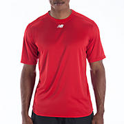 Short Sleeve Power Top, Team Red