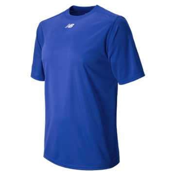 New Balance Short Sleeve Baseball Power Top, Team Royal