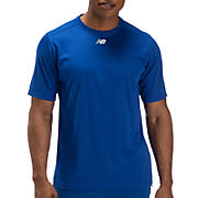 Short Sleeve Power Top, Team Royal