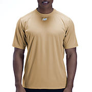 Short Sleeve Power Top, Team Vegas Gold