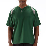 Pro Elite Short Sleeve Jacket, Team Dark Green with Athletic Grey