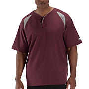 Pro Elite Short Sleeve Jacket, Team Maroon with Athletic Grey