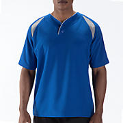 Pro Elite Short Sleeve Jacket, Team Royal with Athletic Grey