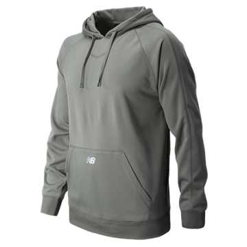 New Balance Performance Fleece Baseball Hoodie, Athletic Grey