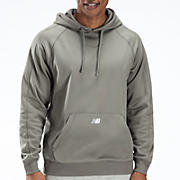 Performance Fleece Hoodie, Athletic Grey