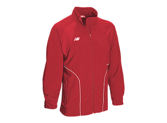 Peak Warm Up Jacket, Team Red with White