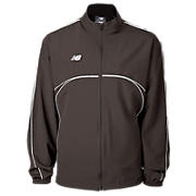 Zone Warm Up Jacket, Maroon with Grey