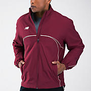 Zone Warm Up Jacket, Team Cardinal
