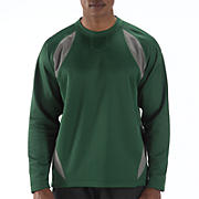 Performance Fleece Pullover, Team Dark Green with Athletic Grey