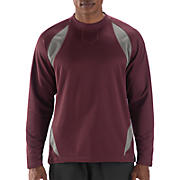 Performance Fleece Pullover, Team Maroon with Athletic Grey