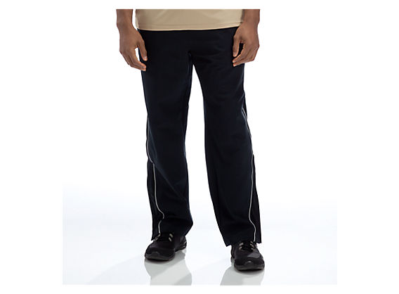 Team Warm Up Pant, Black with White