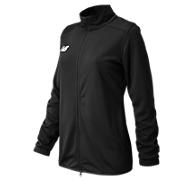 Women's Knit Training Jacket, Team Black