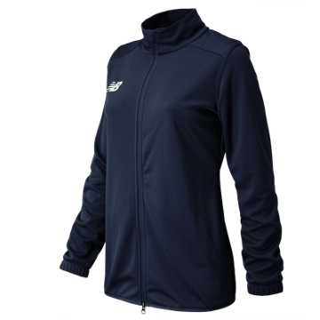 Women's Knit Training Jacket, Team Navy
