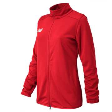 Women's Knit Training Jacket, Team Red