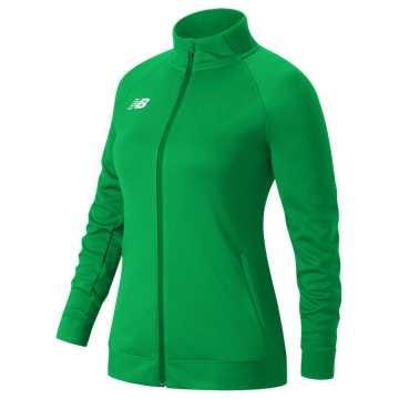 Knit Training Jacket, Green