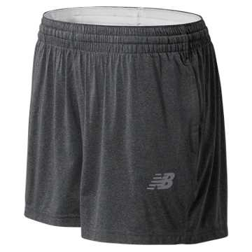 Women's Tech Short, Dark Heather Grey