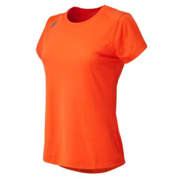 Women's Short Sleeve Tech Tee, Team Orange
