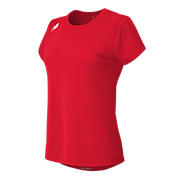 Short Sleeve Tech Tee, Team Red