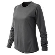 Long Sleeve Tech Tee, Dark Heather Grey