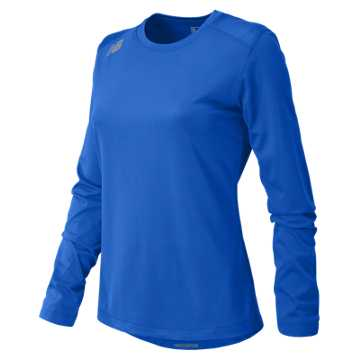 Women's Long Sleeve Tech Tee, Team Royal